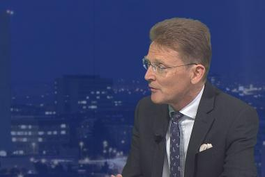 Britskýc velvyslanec v Česku Nick Archer