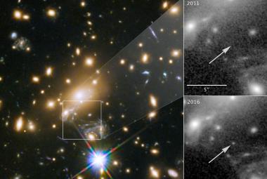 Vědci hlásí objev nejvzdálenější známé hvězdy. Modrý veleobr leží 9,3 miliardy světelných let daleko