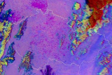Americké satelity zachytily ohně z českého pálení čarodějnic