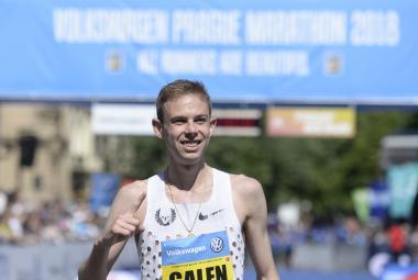 Vítězem Pražského maratonu 2018 je Američan Galen Rupp, bronzový medailista z olympiády v Riu