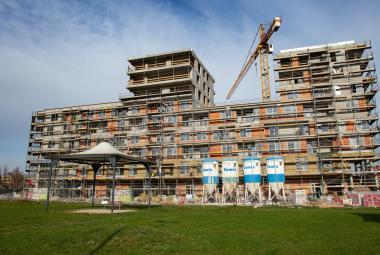 Rozestavěné byty v centru Ostravy