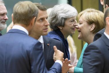 Lídři zemí EU na summitu