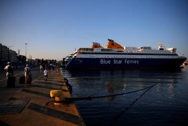 Stávka řeckých námořníků zastavila trajekty
