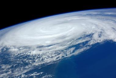Hurikán z ISS