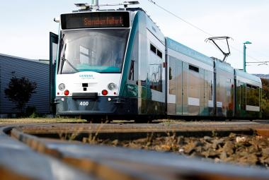 V Německu jezdí první robotická tramvaj. Místa řidičům prý nevezme