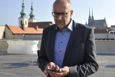 Senátor za obvod Brno-město Mikuláš Bek