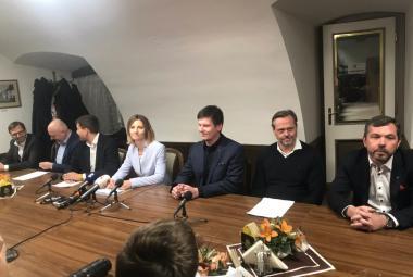 Brněnská koalice představila smlouvu o spolupráci