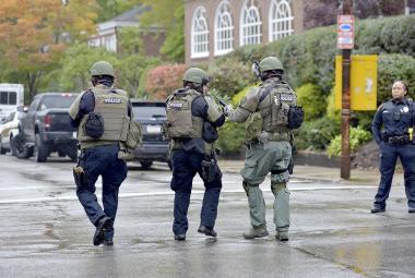 Zásah proti střelci v Pittsburghu