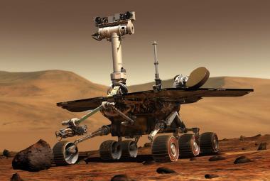 NASA prohlásila vozítko Opportunity na Marsu za mrtvé. Neozvalo se od loňské prachové bouře