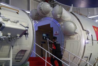 Čína představila třetí Nebeský palác. Nová vesmírná stanice může nahradit ISS