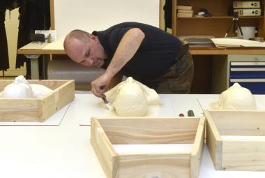 Posmrtné masky Masaryka, Štefánika i Beneše dostávají své kopie. Poputují do Izraele