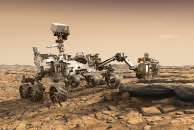 Americký robot má na Marsu pátrat po stopách dávného života