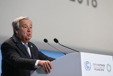 Změna klimatu je otázkou života a smrti, varoval šéf OSN při zahájení světové konference