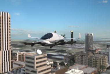 Boeing poprvé otestoval létající elektromobil. Kombinuje to nejlepší z letadla, auta a vrtulníku