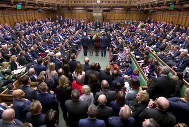 Britští poslanci během jednání o brexitu
