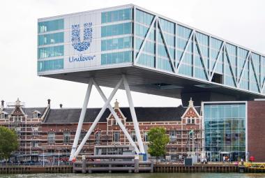 Sídlo společnosti Unilever v Rotterdamu