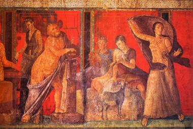 Velká interaktivní mapa Pompejí ukazuje, jak se žilo před dvěma tisíci roky ve městě popraveném sopkou