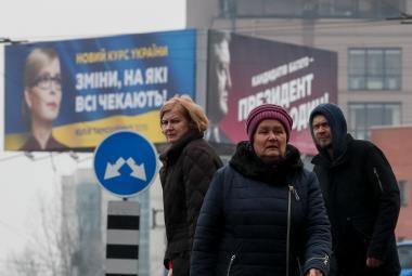 Předvolební kampaň na Ukrajině