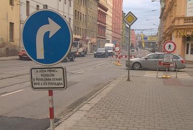 V Brně začala nová dopravní omezení