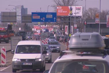 Dopravní komplikace v Brně