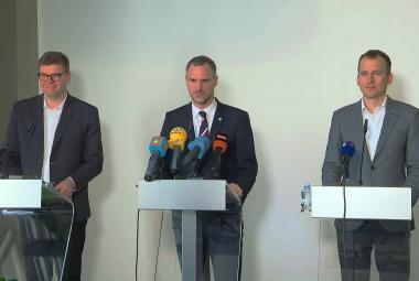 Lídři pražské koalice