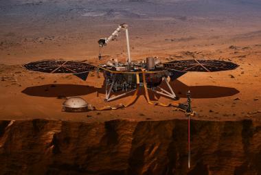 Sonda InSight na rudé planetě poprvé zaznamenala marsotřesení