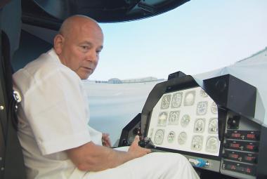 Zvládat nebezpečné letové iluze naučí české piloty nový přístroj
