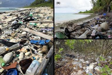 Milion bot a 300 tisíc kartáčků: Kokosové ostrovy se dusí pod tunami plastů