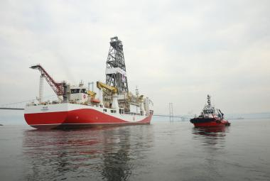 Turecká průzkumná loď u Kypru