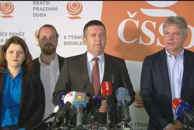 Brífink po jednání předsednictva ČSSD