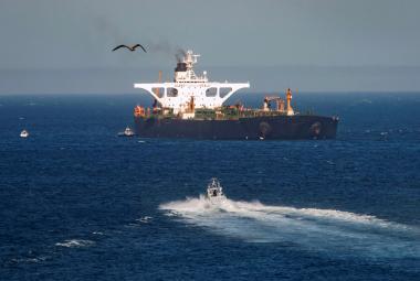 Íránský tanker přejmenovaný na Adrian Darya 1