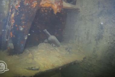 Vědci se ponořili do vraku prokleté lodi Terror a natočili tam fascinující záběry