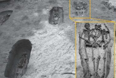 """Archeologické překvapení: Slavní """"milenci z Modeny"""" byli muži"""