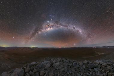 Obrazem: Český fotograf pořídil snímky stavby největšího dalekohledu světa