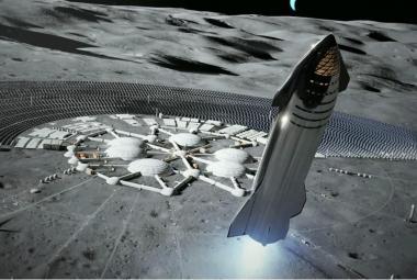 Elon Musk představil kosmickou loď Starship. Lidé s ní mají létat na Měsíc a Mars