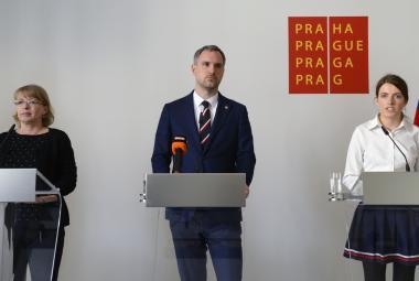Zdeněk Hřib, Hana Kordová Marvanová a Michaela Krausová