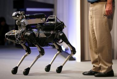 Americká policie začala tajně používat psí roboty