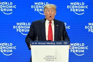 V Davosu začalo jubilejní ekonomické fórum. Leitmotivem je ekologie, promluvila i Thunbergová