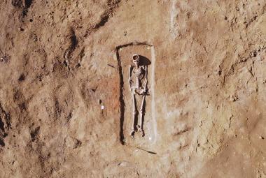 Jeden z hrobů patřil i dívce z velkomoravské smetánky