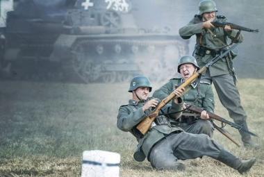 Tanky a na dvě stovky účinkujících. Akce Cihelna ukázala bojové operace jara 1945