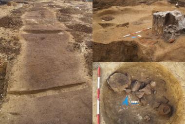 Archeologové objevili v Brně pravěkou dílnu na pazourky a nádoby jordanovské kultury