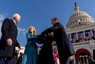 Biden a Harrisová složili přísahu. Funkcí se ujali i noví senátoři, což zajistilo demokratům většinu