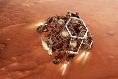 Americká sonda Perseverance přistála na Marsu. Už posílá první snímky