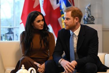 Princ Harry a vévodkyně Meghan definitivně opouštějí královskou rodinu