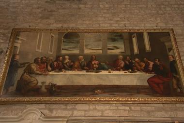 Tizianova Poslední večeře visela v anglickém kostele sto let bez povšimnutí