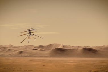 Helikoptéra Ingenuity zvládla první samostatnou noc na Marsu, oznámila NASA