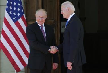 Biden a Putin jednali v Ženevě