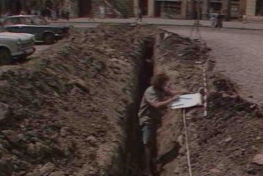 30 let zpět: Archeologický nález na Dolním náměstí v Olomouci