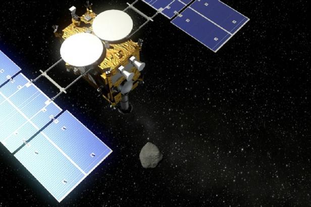 Japonská sonda Hajabusa odebere vzorky z asteroidu. Dramatická operace proběhne o půlnoci