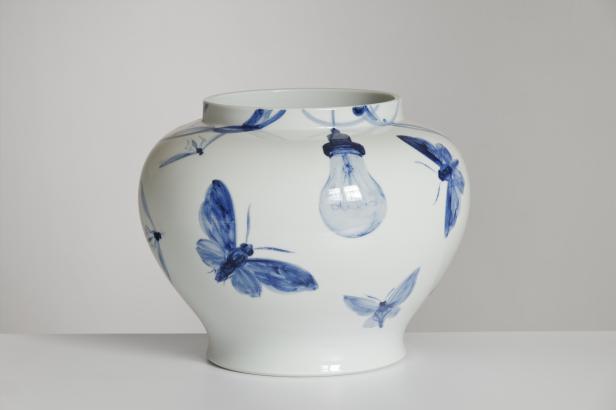 Jiří Straka provozuje s porcelánem adrenalinový sport